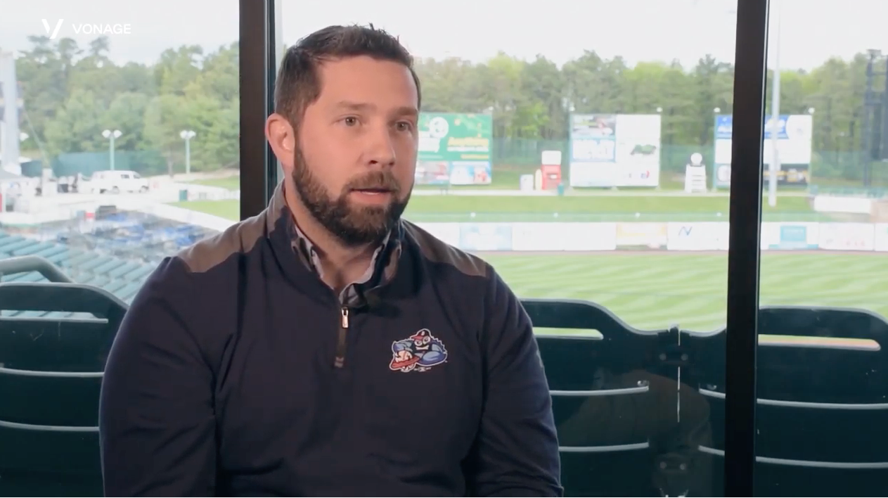 Historia de cliente en vídeo sobre un equipo de béisbol de Minor League, los Lakewood BlueClaws